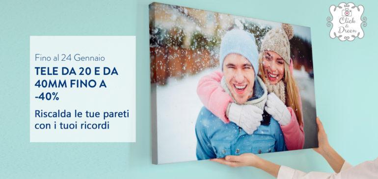 Rendi più accogliente e calda la tua casa con una tela super scontata!