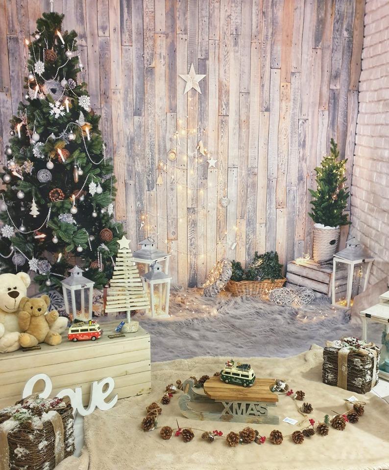 Sfondo natalizio Mini Sessione Bambini