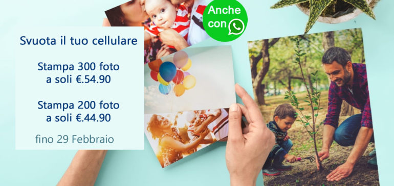 La grande Promo per stampare le tue foto!