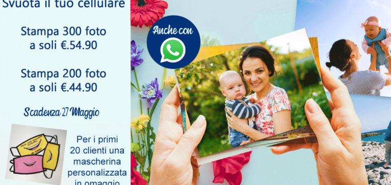 Svuota il tuo cellulare e fai spazio per i tuoi nuovi ricordi !!!
